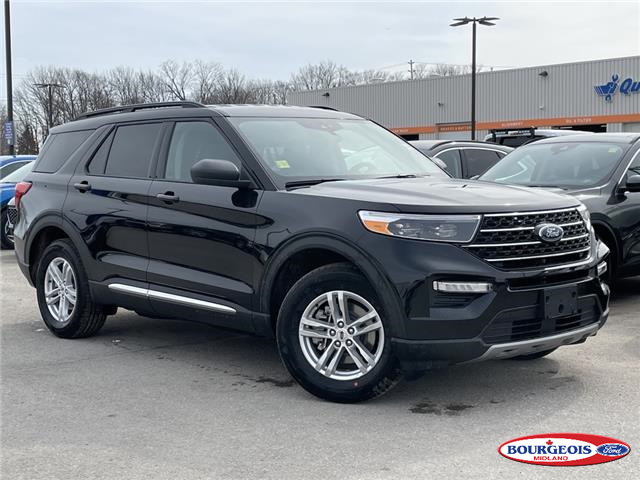 2021 Ford Explorer XLT (Stk: 21T204) in Midland - Image 1 of 4