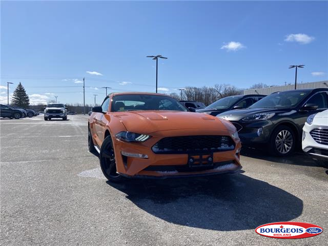 2021 Ford Mustang EcoBoost Premium (Stk: 21MU11) in Midland - Image 1 of 12