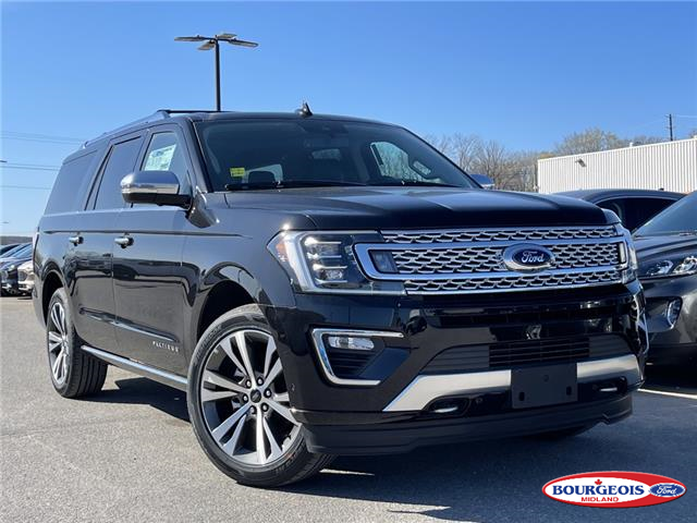 2021 Ford Expedition Max Platinum (Stk: 21T102) in Midland - Image 1 of 18