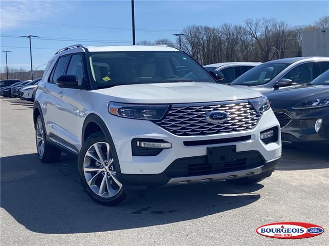 2021 Ford Explorer Platinum (Stk: 21T321) in Midland - Image 1 of 15