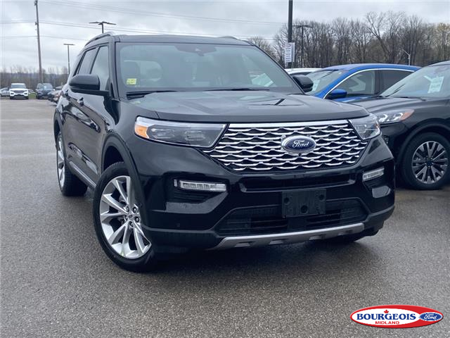 2021 Ford Explorer Platinum (Stk: 21T323) in Midland - Image 1 of 15