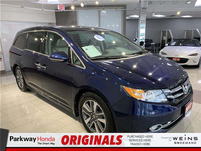 2017 Honda Odyssey Touring (Stk: 16454A) in North York - Image 1 of 29