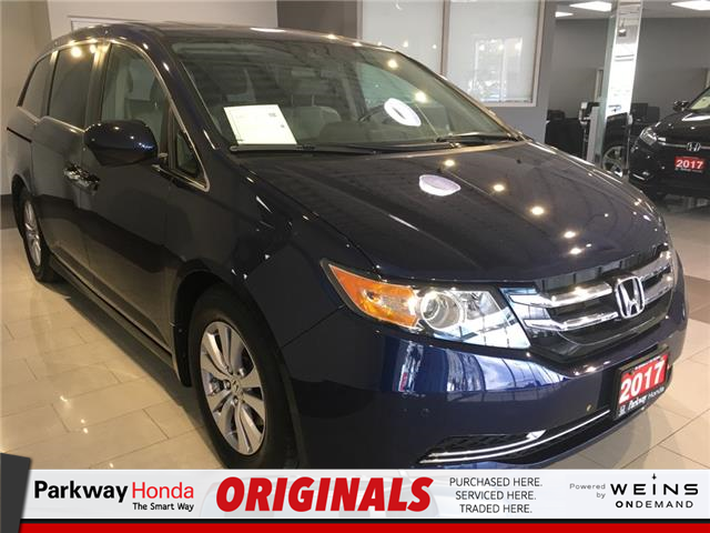 2017 Honda Odyssey EX-L (Stk: 16530A) in North York - Image 1 of 20