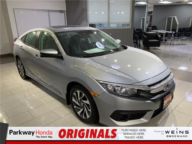 2018 Honda Civic EX (Stk: 16931A) in North York - Image 1 of 24