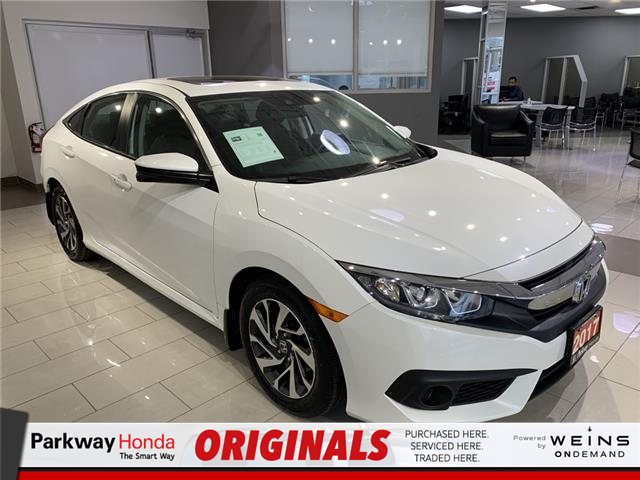 2017 Honda Civic EX (Stk: 16985A) in North York - Image 1 of 21