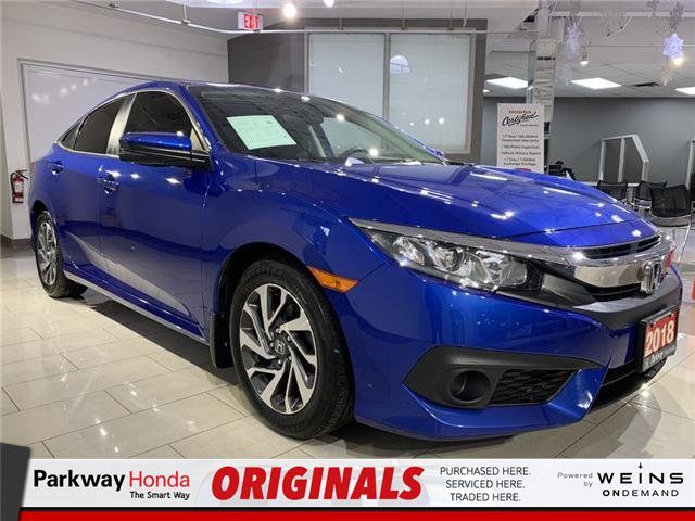 2018 Honda Civic EX (Stk: 17080A) in North York - Image 1 of 24