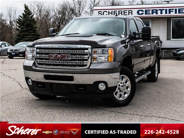 2013 GMC Sierra 2500HD SLT (Stk: 204350A) in Kitchener - Image 1 of 26