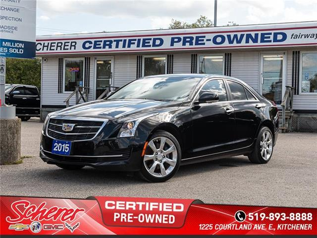 2015 Cadillac ATS 2.0L Turbo Luxury (Stk: 1913050A) in Kitchener - Image 1 of 10