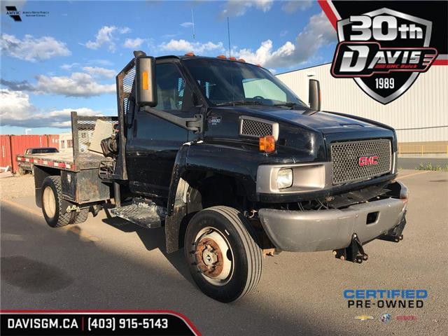2009 GMC 4500 REGULAR CAB 4X4 - PICKER / FLATDECK W/T (Stk: 158526) in Lethbridge - Image 1 of 24