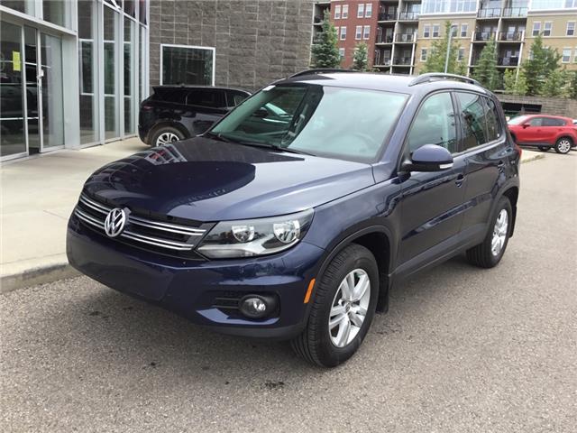 2015 Volkswagen Tiguan Trendline (Stk: N5455A) in Calgary - Image 1 of 17