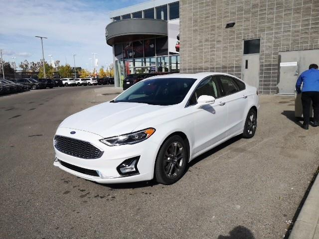 2020 Ford Fusion Hybrid Titanium (Stk: K8148) in Calgary - Image 1 of 7