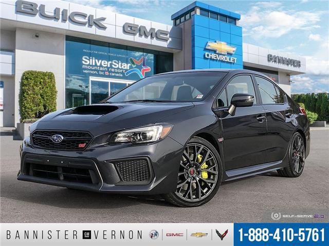 2019 Subaru WRX STI Sport-tech w/Wing (Stk: 21011A) in Vernon - Image 1 of 26