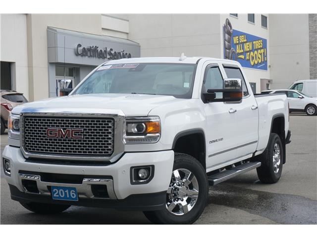 2016 GMC Sierra 3500HD Denali (Stk: 20-055A) in Salmon Arm - Image 1 of 26