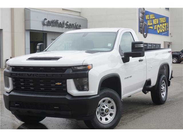2020 Chevrolet Silverado 3500HD Work Truck (Stk: 20-121) in Salmon Arm - Image 1 of 20
