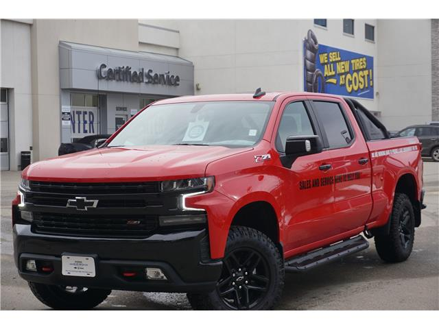 2021 Chevrolet Silverado 1500 LT Trail Boss (Stk: 21-147) in Salmon Arm - Image 1 of 28
