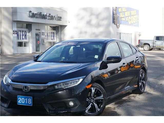 2018 Honda Civic Touring (Stk: 21-151B) in Salmon Arm - Image 1 of 29