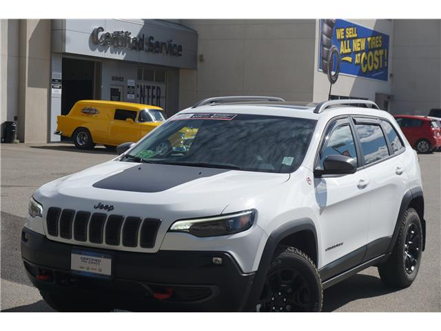 2021 Jeep Cherokee Trailhawk (Stk: 20-193A) in Salmon Arm - Image 1 of 28