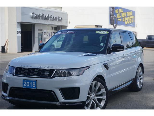 2018 Land Rover Range Rover Sport HSE (Stk: 21-245B) in Salmon Arm - Image 1 of 28