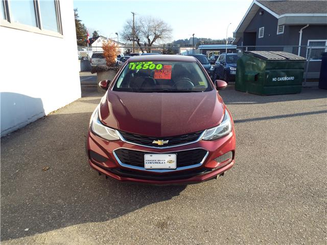 2016 Chevrolet Cruze LT Manual (Stk: 5388) in Quesnel - Image 2 of 22