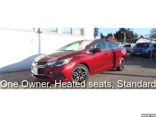 2016 Chevrolet Cruze LT Manual (Stk: 5388) in Quesnel - Image 1 of 22