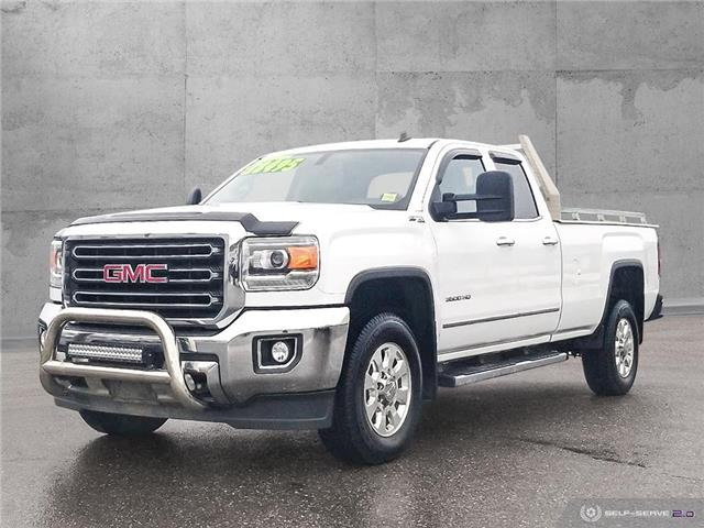 2015 GMC Sierra 3500HD SLT (Stk: 19214A) in Quesnel - Image 1 of 25