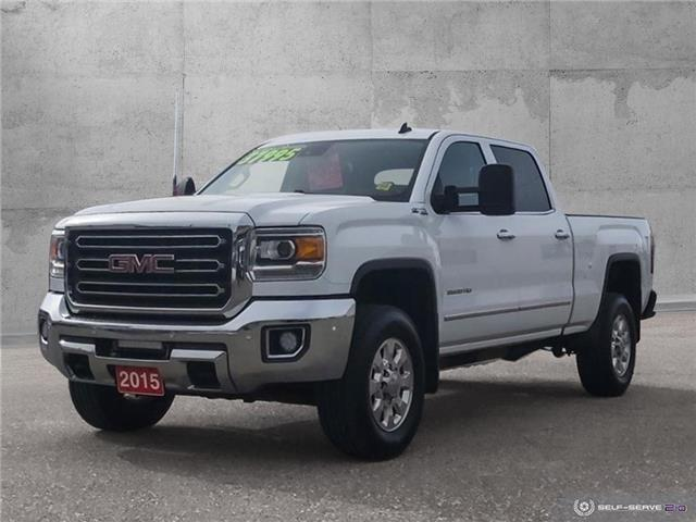 2015 GMC Sierra 3500HD SLT (Stk: 20018A) in Quesnel - Image 1 of 25