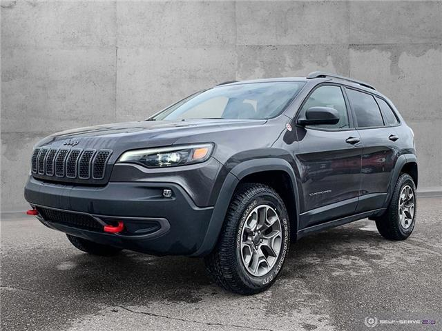 2020 Jeep Cherokee Trailhawk (Stk: 9844) in Quesnel - Image 1 of 24