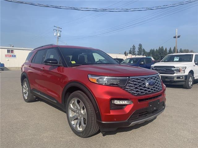 2020 Ford Explorer Platinum (Stk: 20T172) in Quesnel - Image 1 of 18
