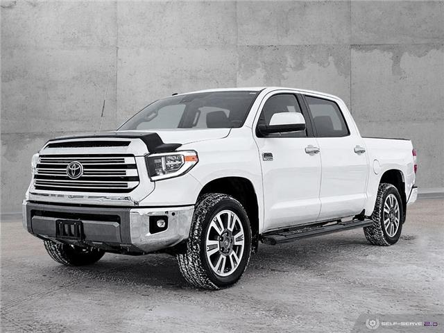 2018 Toyota Tundra Platinum 5.7L V8 (Stk: PO1925) in Dawson Creek - Image 1 of 24