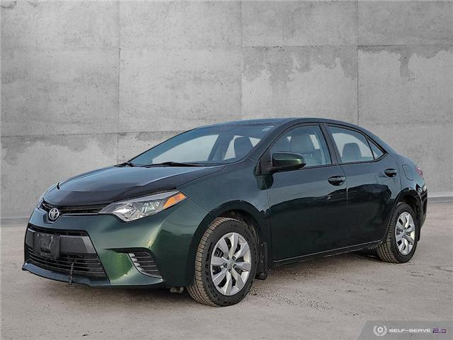 2016 Toyota Corolla LE (Stk: 2021AL) in Dawson Creek - Image 1 of 25