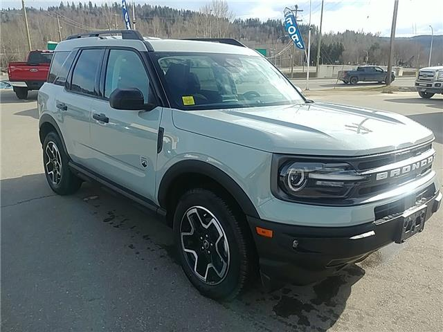 2021 Ford Bronco Sport Big Bend (Stk: 21T066) in Quesnel - Image 1 of 14