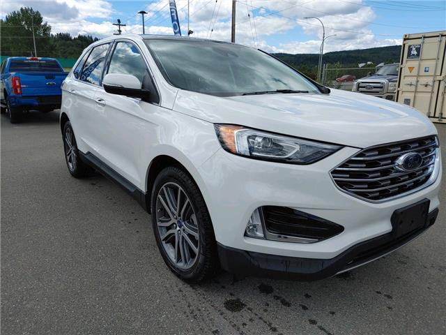 2021 Ford Edge Titanium (Stk: 21T096) in Quesnel - Image 1 of 15