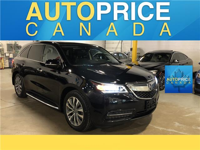 2016 Acura MDX Technology Package (Stk: W0727) in Mississauga - Image 1 of 29