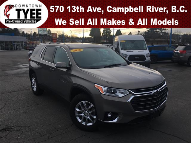 2018 Chevrolet Traverse LT (Stk: T19049A) in Campbell River - Image 1 of 31