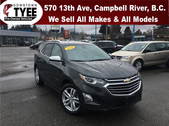 2020 Chevrolet Equinox Premier (Stk: T20085A) in Campbell River - Image 1 of 27