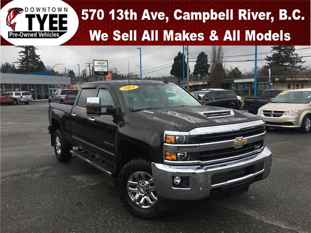 2018 Chevrolet Silverado 3500HD LTZ (Stk: T20052A) in Campbell River - Image 1 of 31