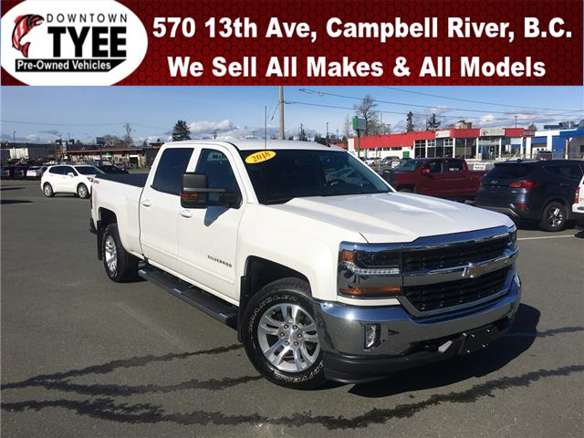 2018 Chevrolet Silverado 1500 1LT (Stk: T20051A) in Campbell River - Image 1 of 30