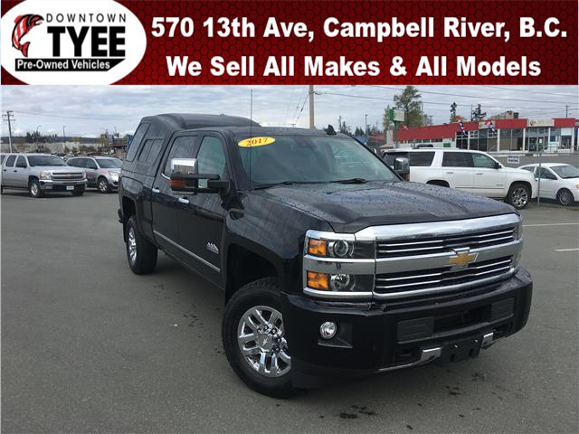 2017 Chevrolet Silverado 3500HD High Country (Stk: T19224B) in Campbell River - Image 1 of 36
