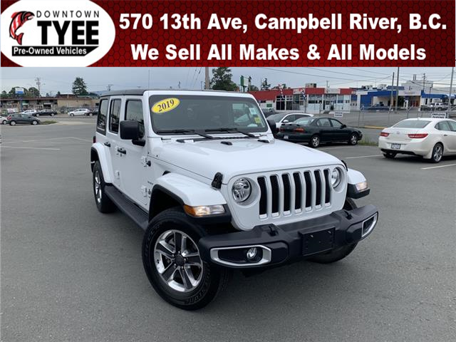 2019 Jeep Wrangler Unlimited Sahara (Stk: T20141A) in Campbell River - Image 1 of 30