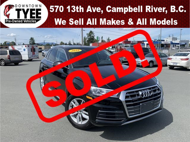 2018 Audi Q5 2.0T Komfort (Stk: T19196A) in Campbell River - Image 1 of 30