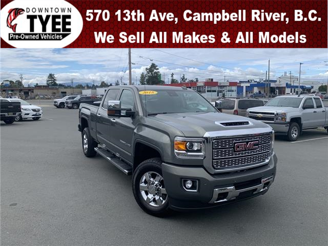 2018 GMC Sierra 3500HD Denali (Stk: T20120A) in Campbell River - Image 1 of 32