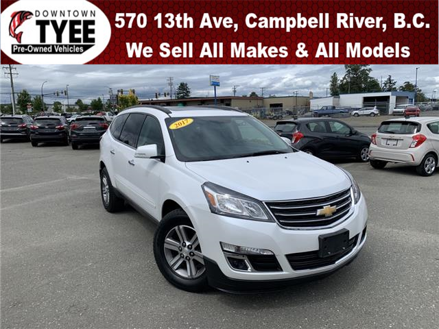 2017 Chevrolet Traverse 1LT (Stk: T19289A) in Campbell River - Image 1 of 30