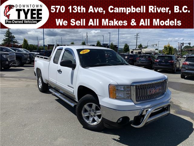 2011 GMC Sierra 1500 SLE (Stk: T19369A) in Campbell River - Image 1 of 27