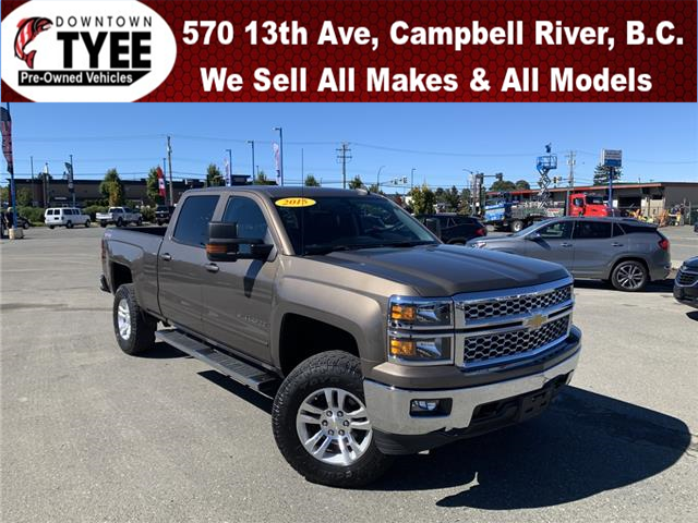 2015 Chevrolet Silverado 1500 1LT (Stk: T20176A) in Campbell River - Image 1 of 27