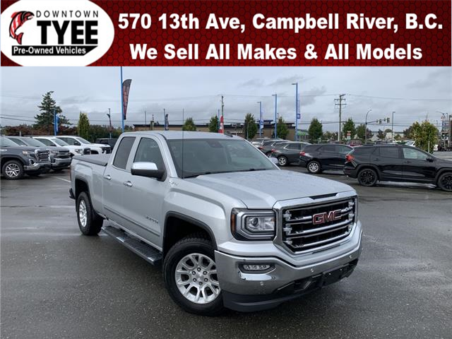 2018 GMC Sierra 1500 SLT (Stk: T19251B) in Campbell River - Image 1 of 31