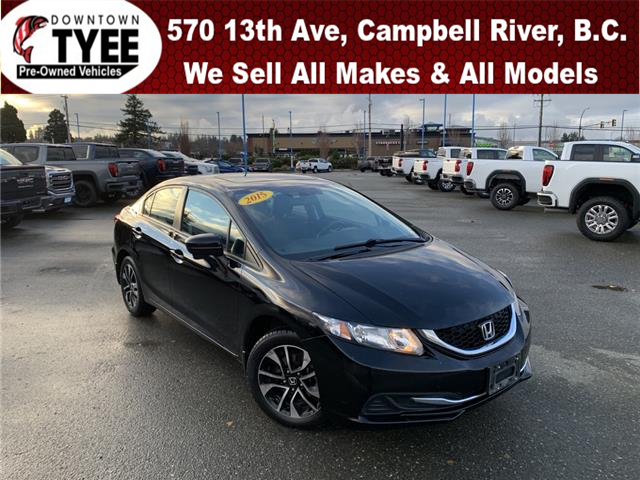 2015 Honda Civic EX (Stk: T20054A) in Campbell River - Image 1 of 30