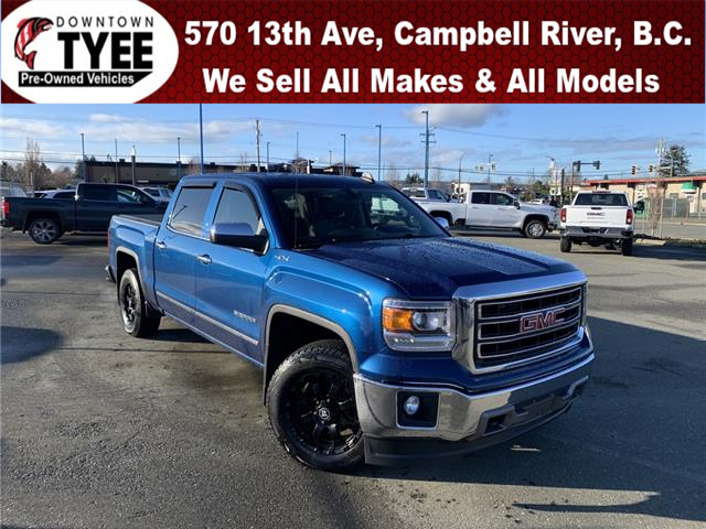 2015 GMC Sierra 1500 SLT (Stk: T21013A) in Campbell River - Image 1 of 29