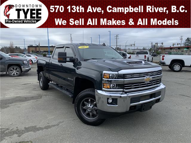 2017 Chevrolet Silverado 3500HD LT (Stk: T21074A) in Campbell River - Image 1 of 29