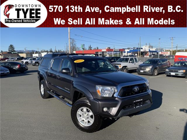 2013 Toyota Tacoma PRERUNNER DOUBLE CAB (Stk: T21073A) in Campbell River - Image 1 of 24