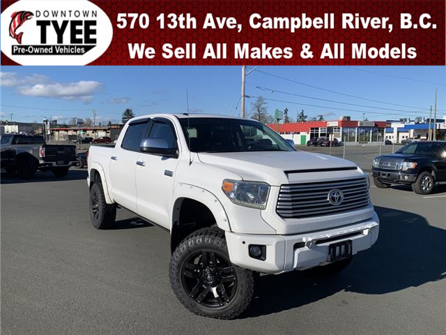 2014 Toyota Tundra Platinum 5.7L V8 (Stk: T21067A) in Campbell River - Image 1 of 33